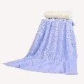 Одеяло 100/90 cм син 347
