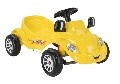 Кола с педали Happy Herby жълт 07303
