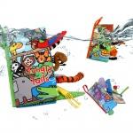 Мека книжка с опашки Джунгла J8232
