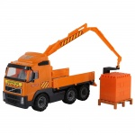 Конструктор Камион с Кран Volvo 9586