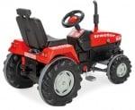 Трактор с педали 07294 червен