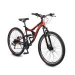 """Велосипед 26"""" GR черен дискове"""
