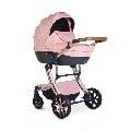 Комбинирана количка 3 в 1 Polly розов