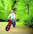 Велосипед балансиращ 5017 червен