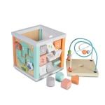 Дървен Сортер куб 20см 1031
