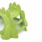 Пързалка Динозавър зелен 00747